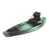 NuCanoe Frontier Canoe, 10ft, w/360 Pinnacle Seat, Gulf Storm, 10 FT
