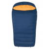 """Marmot Zuma Double Wide 35 Sleeping Bag, Left Zip, Total Eclipse/Buckthorn Brown, Long,  6'6 / LZ"""