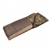 Slumberjack Wheeler Lake Sleeping Bag, -20 Degree Fahrenheit, Brown/Tan/Desert Camo