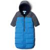 Columbia Pike Lake Convertible Onesie - Infants, Super Blue Heather/Collegiate Navy Heather, 12M - 18M