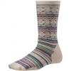 Ethno Graphic Crew Sock - Womens