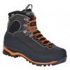 Aku Superalp GTX Backpacking Boot - Men's-Anthracite/Orange-Medium-8 US
