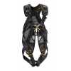 Petzl Full Body Harness, w/ANSI & CSA certifications, Yellow/Black, 26-30in waist