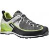 Asolo Salyan Approach Shoe - Men's-Graphite/Lime Green-Medium-8 US