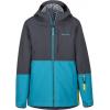 Marmot Panorama Jacket   Boy's Slate Grey/Enamel Blue Medium