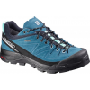 Salomon X Alp LTR GTX Approach Shoe - Women's-Fog Blue/Blue/Bubble-Medium-6.5