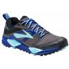 Brooks Cascadia 12 GTX Trail Running Shoe - Women's-Black/Ebony/Clematis Blue-Medium-8.5