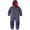 Patagonia Snow Pile One-Piece - Baby-Riverbird/Paintbrush Red-3T