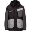 Marmot Space Walk Jacket   Boy's Black/Slate Grey Medium