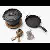 Barebones Cast Iron Dutch Oven Kit, 10in