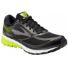 Brooks Ghost 10 GTX Road Running Shoe - Men's-Black/Ebony/Lime Popsicle-Medium-10.5