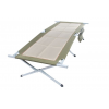 Bushtec Adventure Sierra Oversized Camp Stretcher Bed, Beige/Black