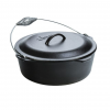 Lodge Cast Iron Dutch Oven with Spiral Bail Handle, 9 quart