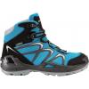 Lowa Innox GTX Mid Jr Hiking Boot - Kid's-Turquoise/Grey-10.5 Kid