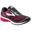 Brooks Ghost 10 Road Running Shoe - Women's-Black/Pink Peacock/Living Coral-Medium-11