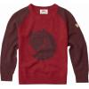 Fjallraven Fox Sweater - Kid's-Dark Garnet/Deep Red-EU 128