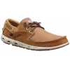 Columbia Super Bahama Boat PFG Watersport Shoe - Men's-Elk/Curry-Medium-8