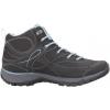 Hi-Tec Equilibrio Bijou Mid i Hiking Boot - Women's-Black/Forget Me Not-Medium-7