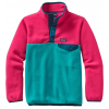 Patagonia Lightweight Synchilla Snap-T Pullover - Girls'-Epic Blue-Large