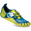 La Sportiva GripIt Climbing Shoe - Kids-Blue/Sulphur-25/26 Euro