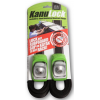 Kanulock Locking Cam Strap Set-Green-8 ft