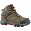 Hi-Tec Altitude Lite I Waterproof Hiking Boot - Kid's-Brown/Taupe-10 Kid
