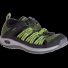 Chaco Outcross 2 Watersport Shoe - Kid's-Dark Moss-3 Youth