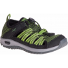 Chaco Outcross 2 Watersport Shoe - Kid's-Dark Moss-5 Youth