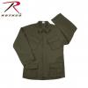 Rothco Vintage Vietnam Fatigue Shirt Rip-Stop, Tiger Stripe Camo, Small