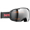Bern Sawyer Small Frame Goggles-Black/Red-Orange Light Mirror-Small