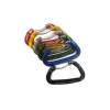Fixe Faders Colored Aliens Carabiners - 6 Pack