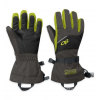 Outdoor Research Adrenaline Gloves - Kid's-Charcoal/Black/Lemongrass-Small