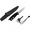 Light My Fire Swedish FireKnife with intergrated Swedish Firesteel - Black lmf0005