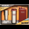 Stanley Adventure Stainless Steel Shots and Flask Set-Hammertone Crimson