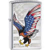Zippo Eagle Flag High Polish C Lighter