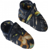 Patagonia Synchilla Booties - Baby-Oso Rios/Navy Blue-3M