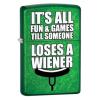 Zippo It's All Fun & Games Lighter, Meadow