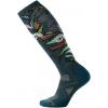 Smartwool PhD Ski Medium Pattern Sock - Women's-Bordeaux-Small
