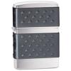 Zippo Brushed Chrome Black Zip Guard Classic Style Lighter