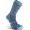 Bridgedale MerinoFusion Trekker Medium Crew Sock - Women's-Blue / Sky-Medium