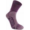 Bridgedale CoolFusion TrailBlaze Light Crew Sock - Women's-Plum-Small