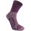 Bridgedale CoolFusion TrailBlaze Light Crew Sock - Women's-Plum-Medium