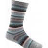 Darn Tough Sassy Stripe Crew Light Casual Sock - Women's-Black-Small