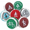 Adventure Trading Pacific Crest Trail Footbag