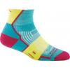 Darn Tough BPM 1/4 Light Cushion Sock - Women's-Teal-Small