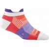Darn Tough Pulse No Show Tab Light Sock - Women's-Coral-Small