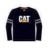 Caterpillar Kids Logo Long Sleeve T-Shirt, Black, 2T