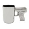Aloe Gator Ceramic Gun Mug Chrome 16.9 Oz
