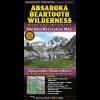 Absaroka Beartooth Wilderness Trail Map