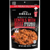 photo: OMeals Lentils with Beef